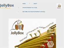 Tablet Preview of jollybox.co.uk